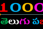 తెలుగు పజిల్స్